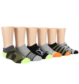 Stride Rite Calvin: 6pk No Show Socks
