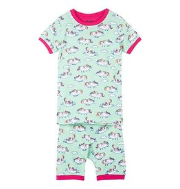 Hatley Roly Poly Unicorns SS PJs