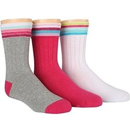 Stride Rite Briana: 3pk Tube Socks