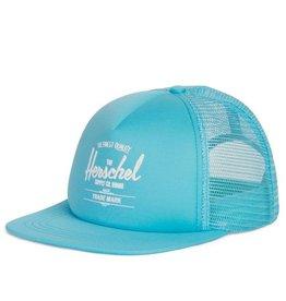 Herschel Youth Sprout Whaler Cap Bachelor Button Aqua