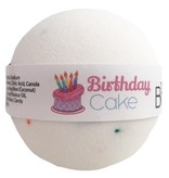 The Bath Bomb Company Birthday Cake Natural Bath Bomb
