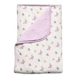 Kyte Baby Baby Blanket In Lilac/Garden