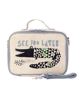 So Young Wee Gallery Alligator Lunch Box