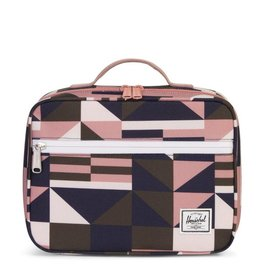 Herschel Pop Quiz Lunch Geo/Ash Rose