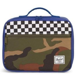 Herschel Pop Quiz Lunch Ultramarine/Checker