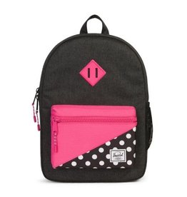 Herschel Youth Heritage Polka Dot Pink