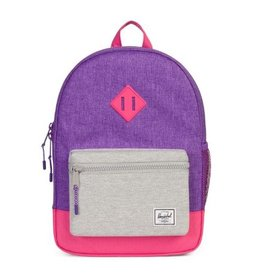 Herschel Youth Heritage Lavender Crosshatch/Pink