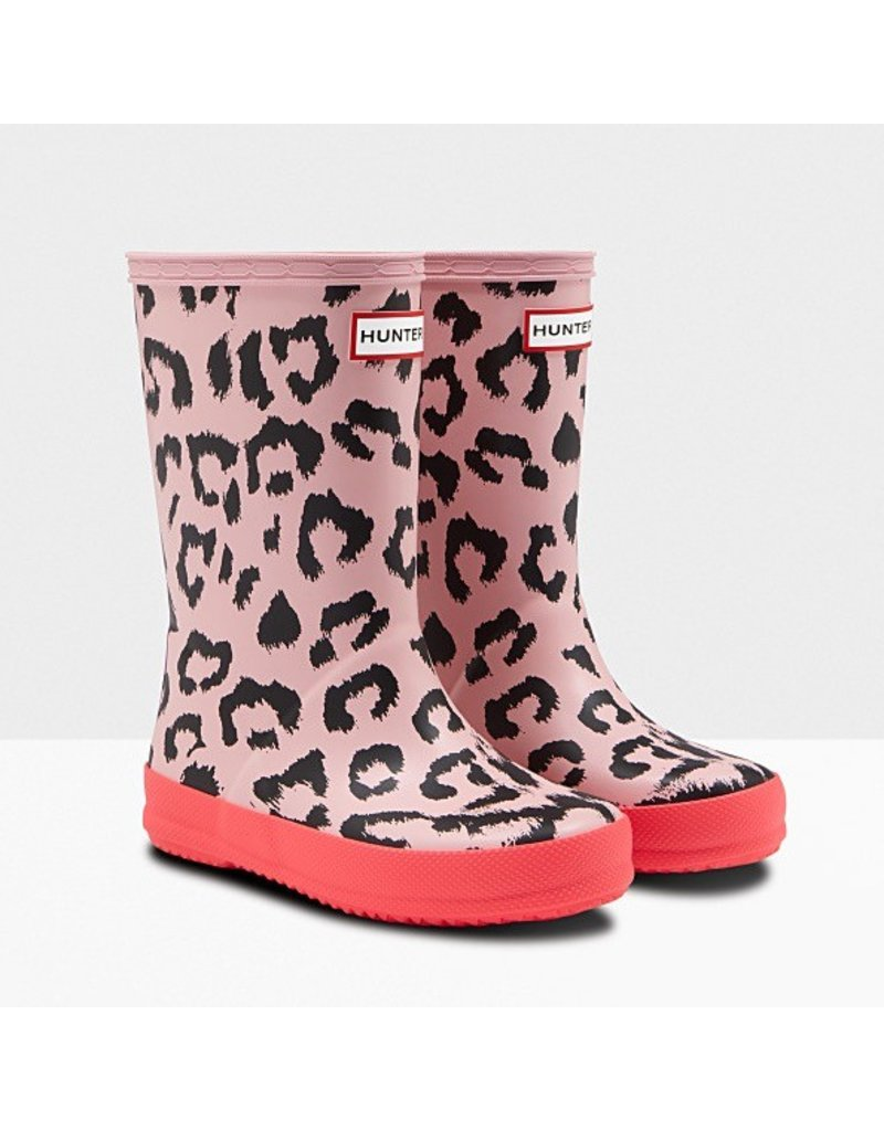 Hunter Boots Kid's First Leopard Hunter Boots
