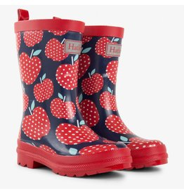 Hatley Polka Dot Apples Rain Boots