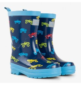 Hatley Colourful Trucks Rain Boots