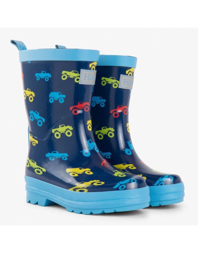 Hatley Colourful Trucks Rain Boots