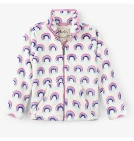 Hatley Pretty Rainbows Fleece Zip Up