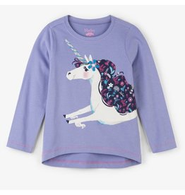 Hatley Lovely Unicorn LS Tee
