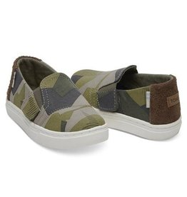 Toms Luca Burnt Olive Camo