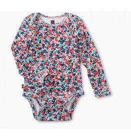 Tea Collection Baby Cape Floral Bodysuit