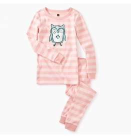 Tea Collection Wise Owl Graphic Pajamas