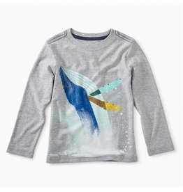 Tea Collection Whale Splash Graphic Tee