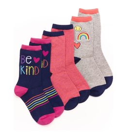 Stride Rite Piper Patches Crew 3pk