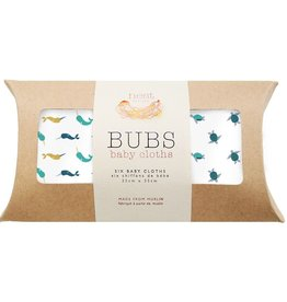 Nest Bubs Baby Wash Cloths Turtle + Narwal