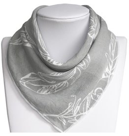 Nest Bib Feather Grey