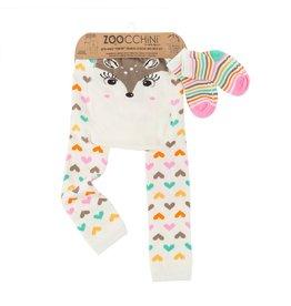 Zoocchini Fawn Legging + Sock Set