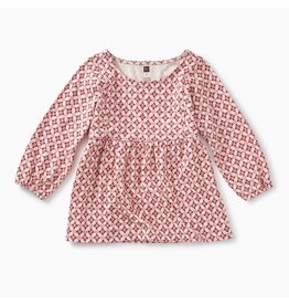 Tea Collection Patterned Peasant Top