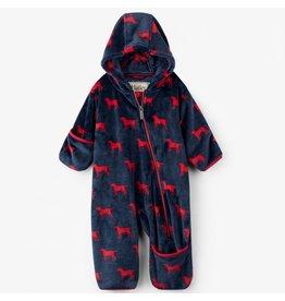 Hatley Red Labs Fleece Baby Bundler