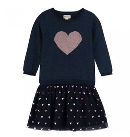Hatley Glitter Heart Dress
