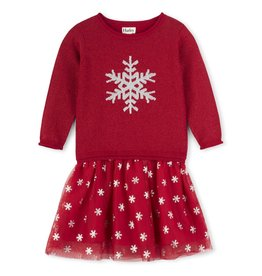Hatley Glitter Snowflake Dress
