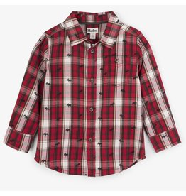 Hatley Tiny Moose Button-Down Shirt