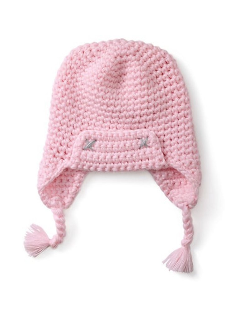 c5724d791a4 Smartwool Kids  Pink Merino Trapper Hat - Vancouver s Best Baby ...