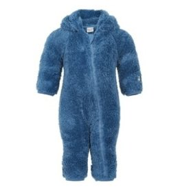 Minymo Coronet Blue Teddy Fleece Pramsuit
