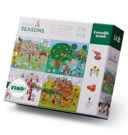 Crocodile Creek 24-pc. Early Learning - Four Seasons Puzzle