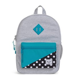 Herschel Youth Heritage Light Grey/Blue
