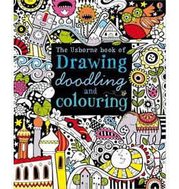 Usborne Drawing, Doodling and Colouring Book