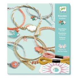 Djeco Kumihimo Bracelets Diy Kit - Celeste