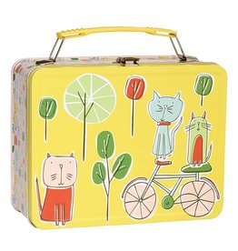 ORE Originals Go Kitty Go Metal Lunch Box
