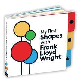 Mudpuppy My First Shapes Frank Lloyd Wright Board Book