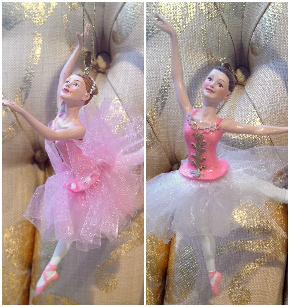 KURT S. ADLER C8887 BALLERINA GIRL ORNAMENT
