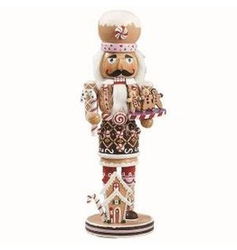 KURT S. ADLER C1027 GINGERBREAD COOKIE BAKER NUTCRACKER