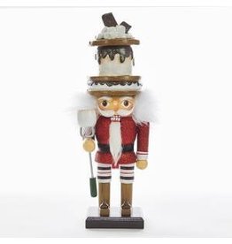 KURT S. ADLER HA0341HOLLYWOOD SMORE'S NUTCRACKER … YOU TAKE THE MALLOW