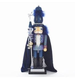 KURT S. ADLER HA0365 HOLLYWOOD LORD OF THE GALAXY GLITTER NUTCRACKER