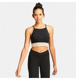 CAPEZIO & BUNHEADS A11175W-BBH-S BARRE'LETTE LAYERED LACE BRA TOP WITH A/B BRA-TEK