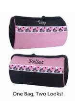 SASSI DESIGNS  LLC BTC-06 BALLET TAP COMBO DUFFLE BAG