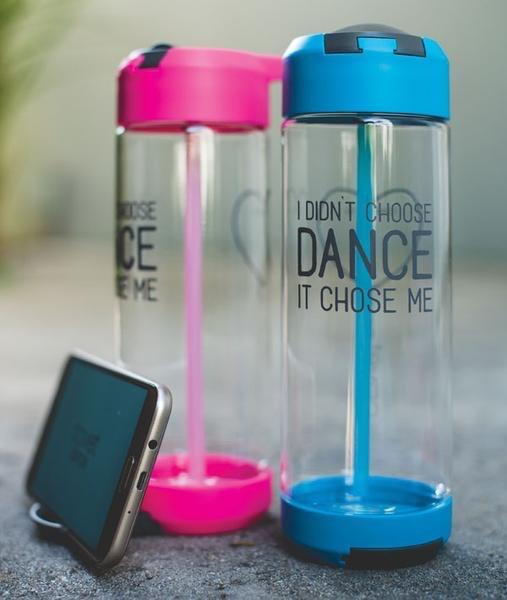 COVET DANCE IDCD-WB KICKSTAND WATER BOTTLE - DANCE CHOSE ME