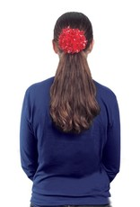 GETZ HP-HSP POMMIE BOW POM POM HAIR TIE