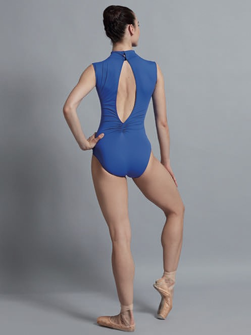 BALLET ROSA ANGELES LOW V FRONT TEARDROP BACK NECK WIDE TANK LEOTARD