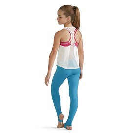 BLOCH & MIRELLA FP5032C PILAR PIPED ANKLE LEGGING