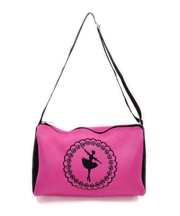 AMERICAN DANCE SUPPLY ADS807 MESH CAMEO BALLERINA  TRIANGLE BAG