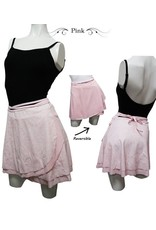 CAPEZIO & BUNHEADS A11003C GARDEN DANCE PARTY SYLPH REVERSIBLE LAYERED WRAP SKIRT